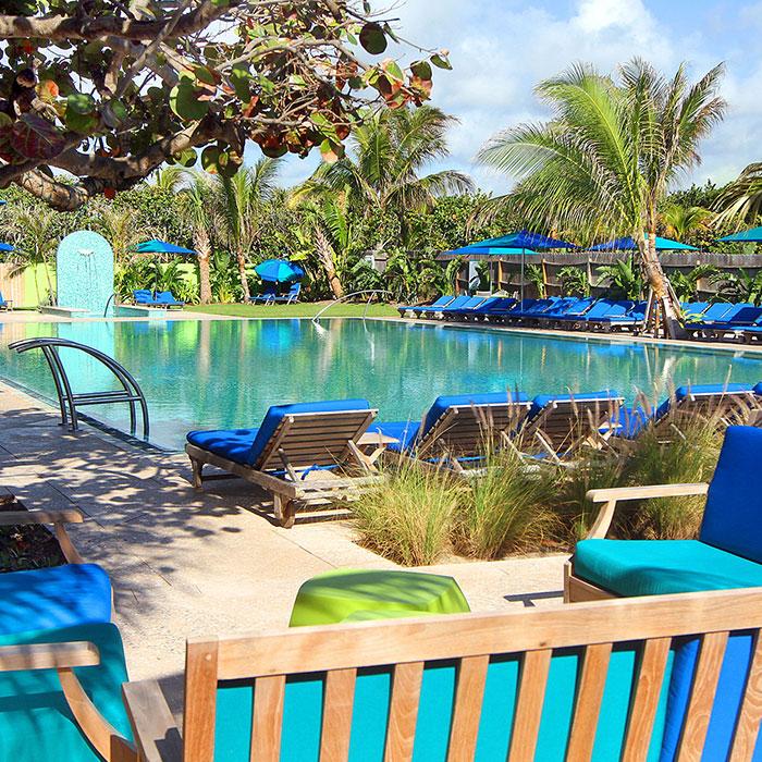 Colony Hotel Delray Beach Cabana